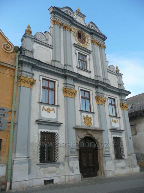 Zlaté Hory - bývalá pošta, dnes Městské muzeum.