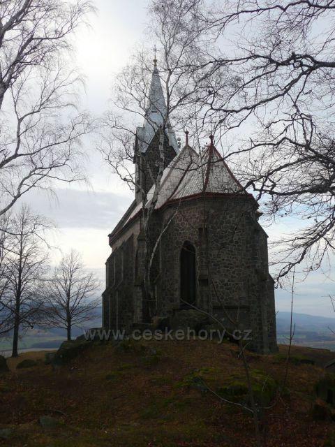 Kostel Panny Marie Bolestné na Boží hoře.