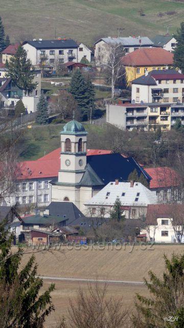 Dolní Dobrouč, kostel sv. Mikuláše