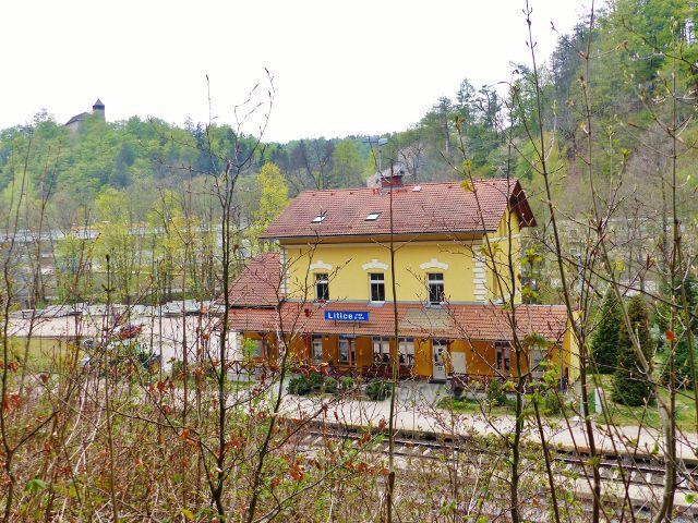 Litice - vlakové nádraží