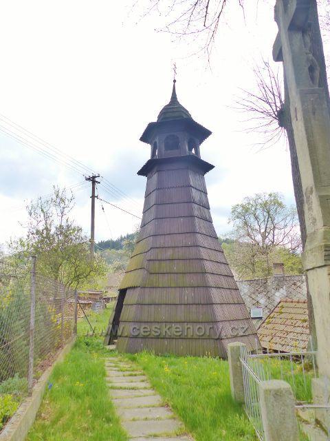 Bohousová - zvonička z 18. století