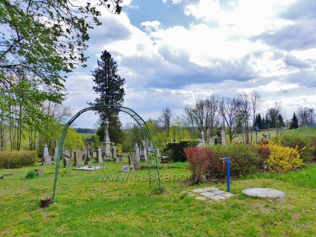 Hřbitov v Nebeské Rybné