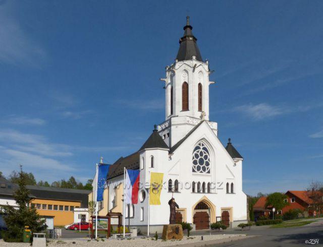 Dlouhá Třebová, kostel, kostel sv. Prokopa