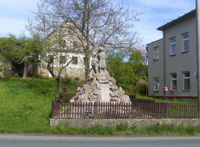 Hejnice - památník obětem I.Světové války
