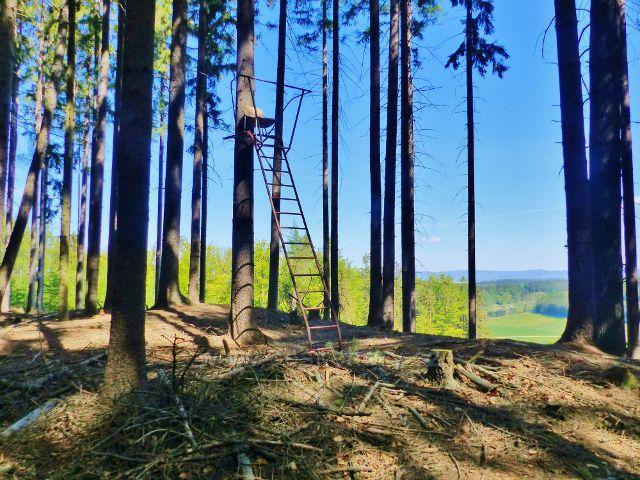 Samotný vrchol Pilátky (530 m.n.m.) se pyšní konstrukcí, která může sloužit nejen jako posed, ale i jako rozhledna.