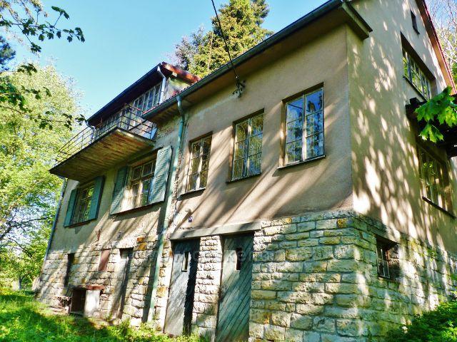 Kunvald - vila přírodovědce Prof. Bílka na úpatí Krejsovo kopce