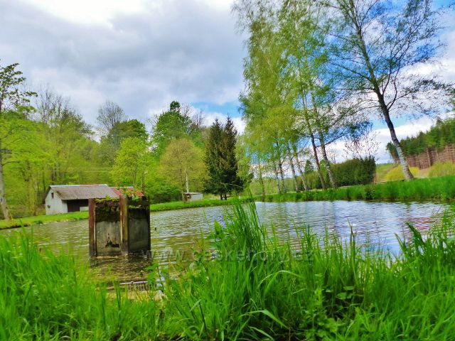 Kunvald - rybní na Rokytence