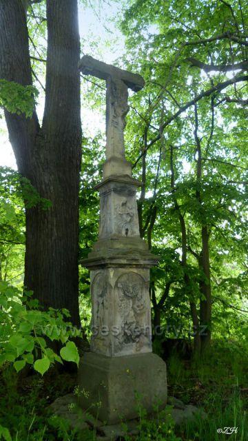 Kamenný kříž  z roku 1850