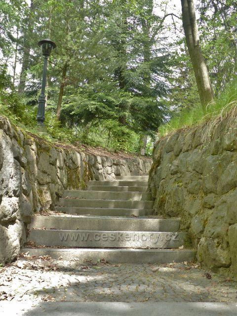 Žamberk - albertinské schody