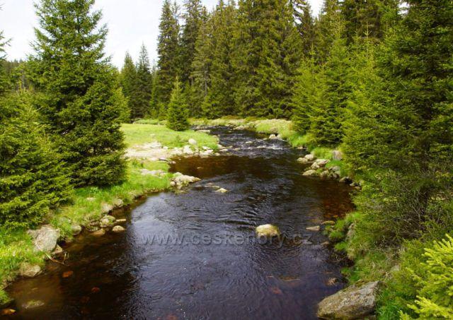 Modravský potok - most