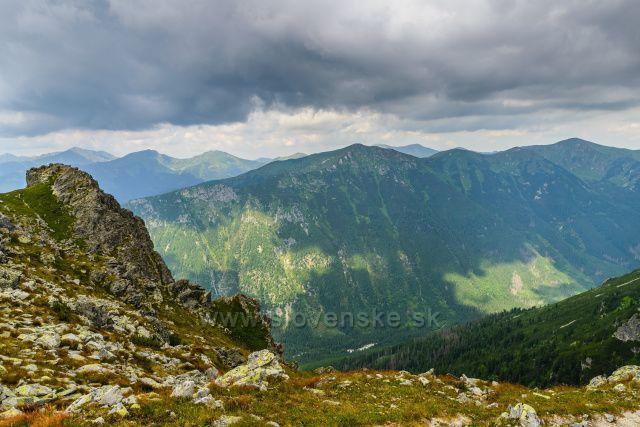 Západní Tatry před letní bouřkou