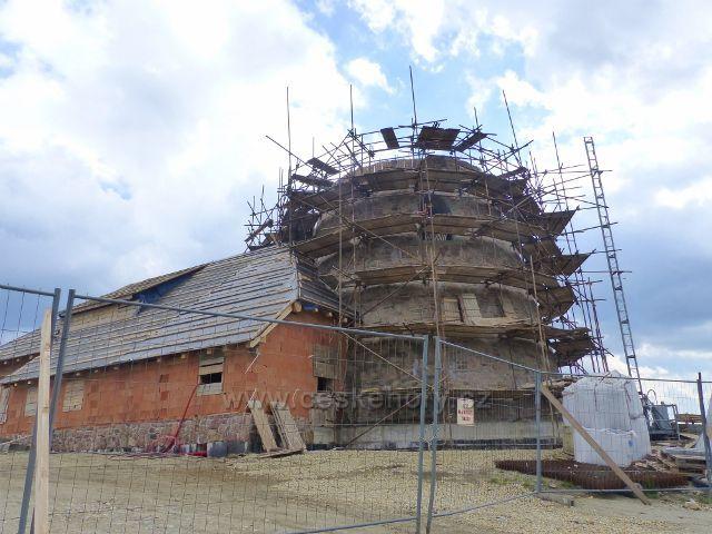 Dalimilova rozhledna na vrchu Větrov je soukromou stavbou a má být replikou bývalé rozhledny stojící od roku 1899 do roku 1973 na vrcholu Králického Sněžníku