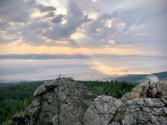 Mlha nad Libercem