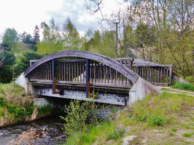 Staré Město pod Sněžníkem - most přes Vrbenský potok