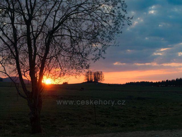 Šumavské západy slunce