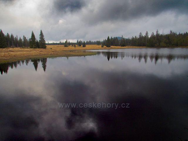 Mrtvý rybník v Krušných horách