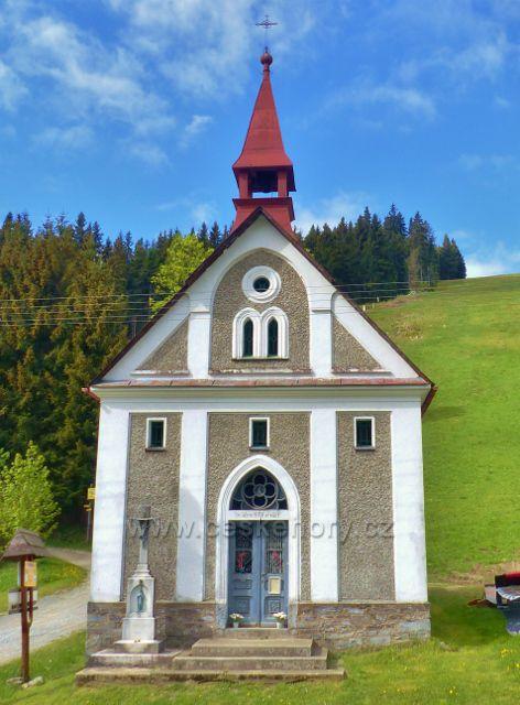Petříkov - kaple svatého Vavřince
