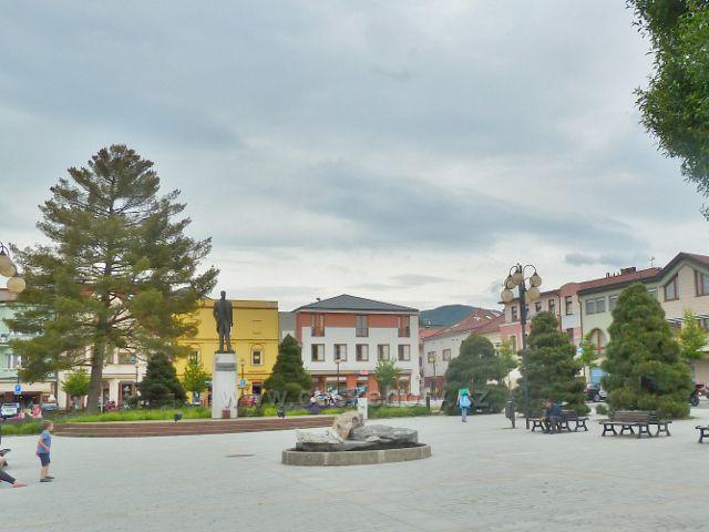 Rožnov pod Radhoštěm - náměstí T.G.M.