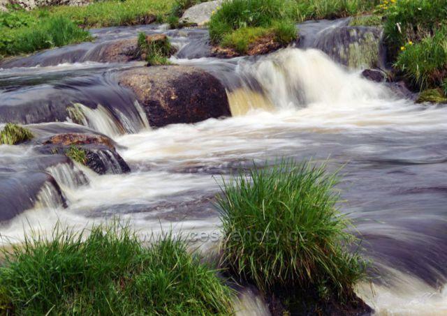 Soutok Teplé Vltavy a Kvildského potoka