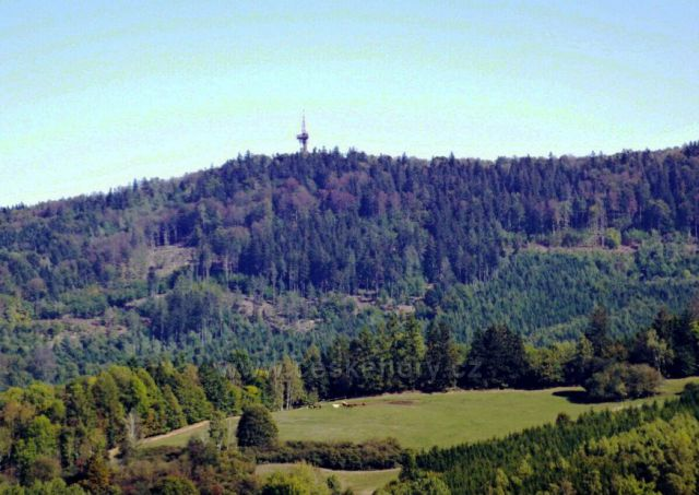 Rozhledna Koráb 773 m u Kdyně