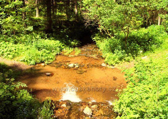 Amálino údolí - Zlatý potok