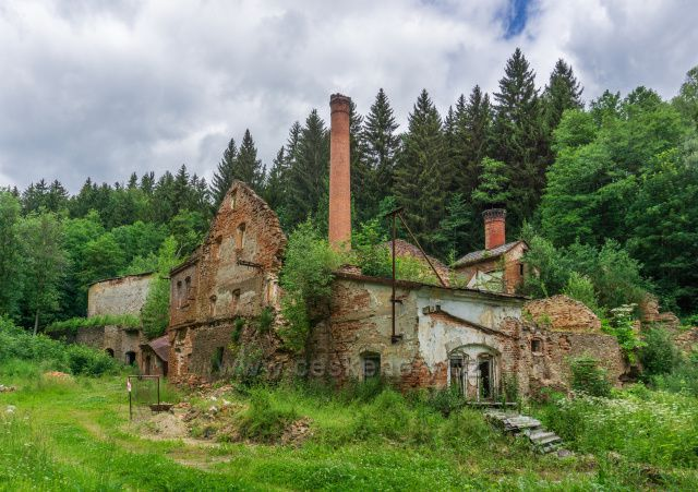 Hřebeny - ruiny pivovaru