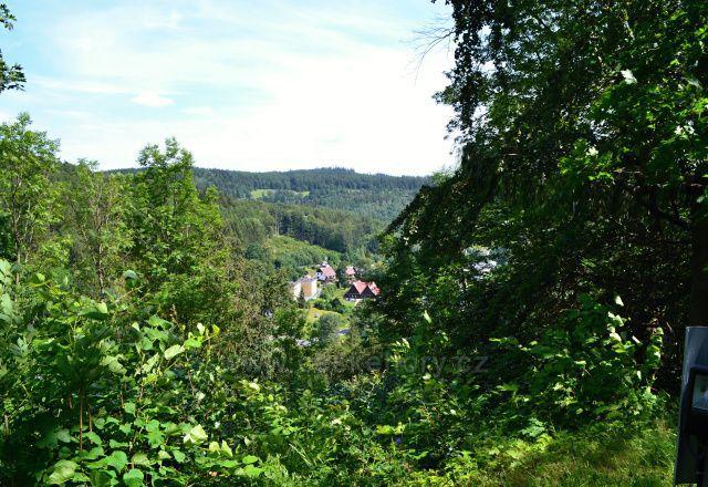Kapličkový vrch - Malá Morávka, výhledy