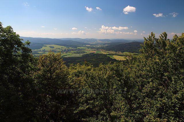 Výhled ze Starého Herštejna