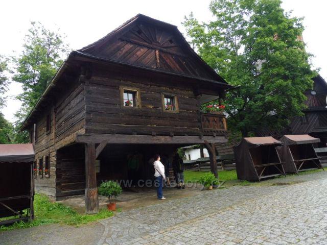 Dřevěná dědina Rožnov p. R.