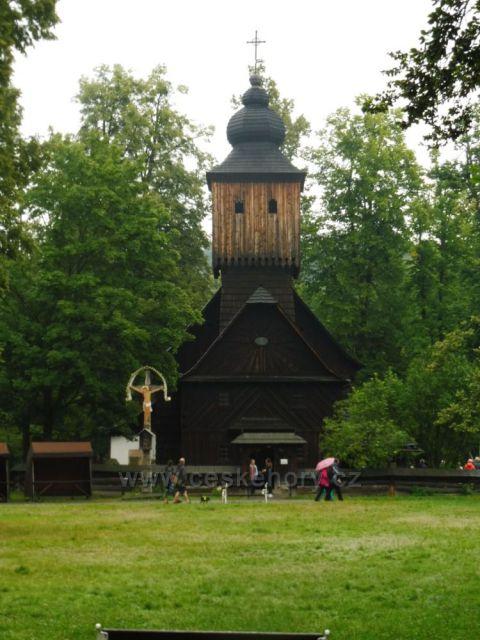 Dřevěný kostel  Rožnov p.R