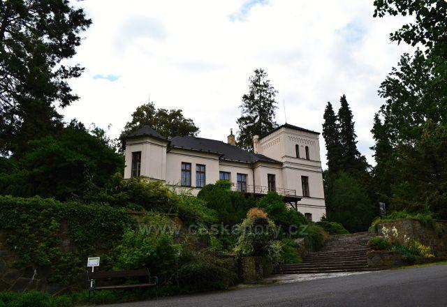 Arboretum Nový Dvůr u Opavy - zámeček
