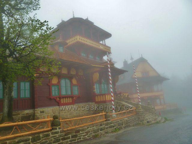 Pustevny - Jurkovičovy chaty