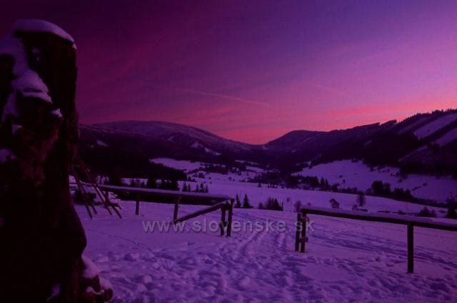 Kysuce-Skoré ráno v Kysuckých Beskydách