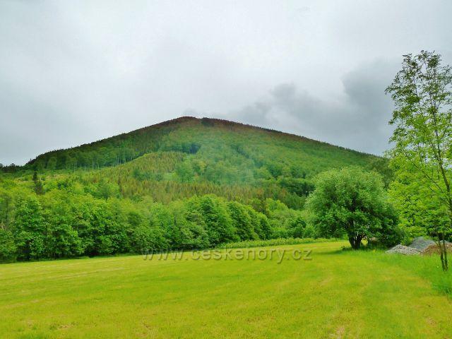 Bystré - vrch Velká Stolová 1049 m.n.m.