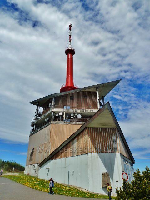Televizní vysílač na Lysé hoře