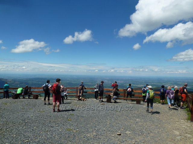 Výhledové místo na Lysé hoře