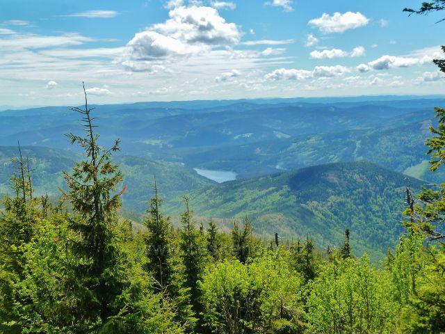 Pohled z Lysé hory k v.n.Šance