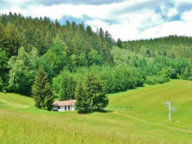 Jablonné nad Orlicí - lyžařský areál pod Malovým kopcem