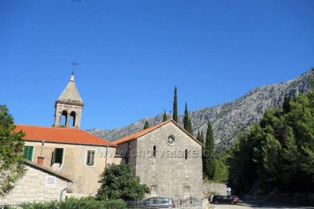 Crkva Svetog Križa, Živogošće