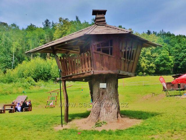 Bludov - areál restaurace Bludoveček