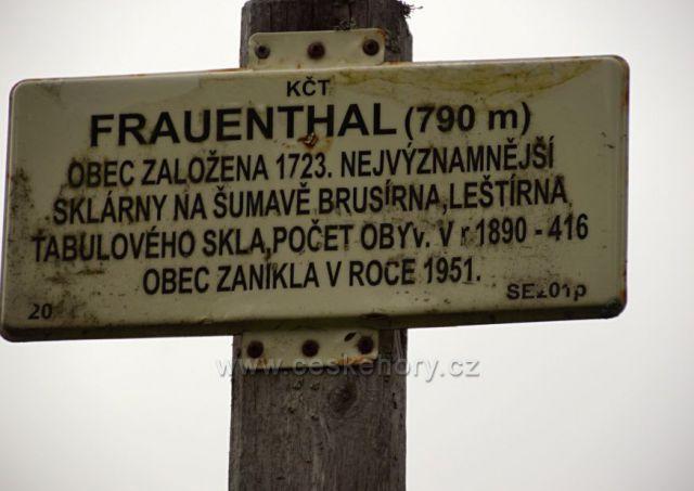 Zaniklá obec u řeky Křemelné