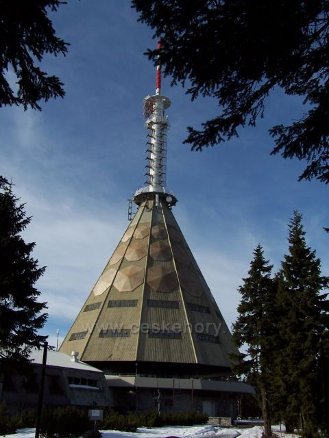 Černá Hora - vysílač