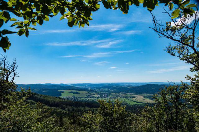 Český les, vyhlírka ze Starého Herštejna