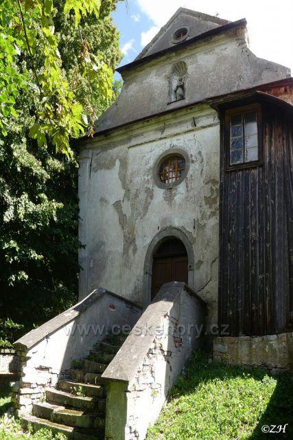 Bělá, kostel sv. Jana Nepomuckého