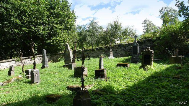 Zaniklý německý hřbitov