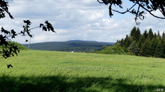 Panorama Orlických hor, Velká Deštná