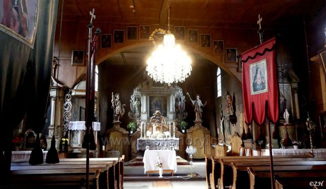 Interér kostela
