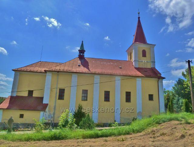 Skuhrov nad Bělou - kostel sv.Jakuba