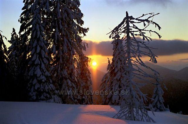 Veľká Fatra-Podvečer na Hrebeni
