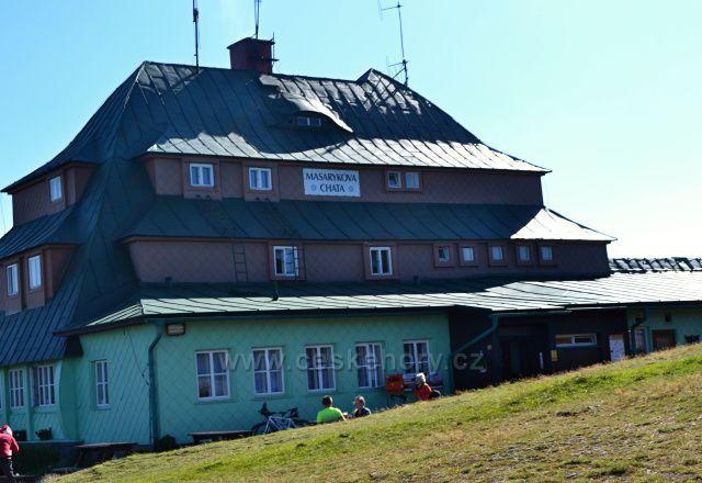 Velká Deštná, okolí Masarykovy chaty